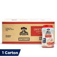 Quaker Instant Oatmeal Jar [1 Carton - 12 Pcs]