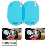 Anti Fog Kaca Spion Mobil / Stiker Kaca Anti Blur