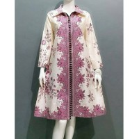 Tunik Batik - Baju Kantor - Atasan Batik Exclusive