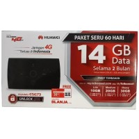 Modem MiFi Router 4G UNLOCK Huawei E5673 Free Telkomsel Kuota14GB