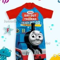 Baju Renang Bayi/Swimsuit Jumsuit Bayi Kereta Api Day Out Thomas Biru