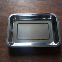 Grosir Nampan / Baki Stainless Anti Karat U: 22X32 Brand Komodo