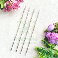 [Straight] Sedotan Stainless Steel Straw Zero Waste 27cm Diameter 6mm