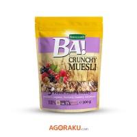 Bakalland BA! Crunchy Muesli 5 Fruits of The Forest 300 gram