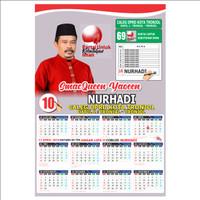 Kalender Partai Pilkada Pilpres Pemilu Caleg - DU210