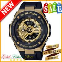 Jam Tangan Pria GSHOCK Tipe GST410 / GST.410 Gold Original BM limited