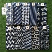 Kain Batik Garutan warna Biru Navy