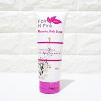 Harga fair n pink whitening body serum 160ml original 100 bpom | antitipu.com