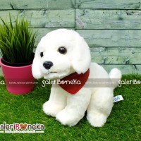 Boneka Anjing Golden Retriever Cream ( HK - 621342 )