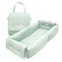 Dr.Bebe Foldable Bumper Bed - Green Mountain