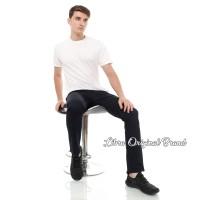 Celana Chino Hitam / Celana panjang Pria