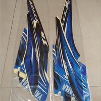 Stiker Bodi & Lis Body & Striping Jupiter Mx 2009 Biru