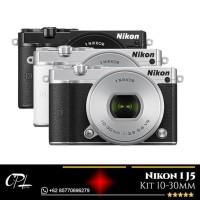Harga big sale nikon 1 j5 kit 10 30mm black silver garansi resmi | Pembandingharga.com