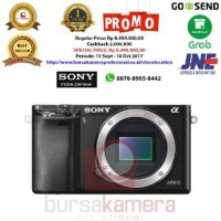 Harga diskon sony alpha a6000 mirrorless digital camera body only | Pembandingharga.com
