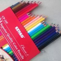 Pensil Warna 24 Superior Quality Color Pencils Classic - Kenko CP-24F