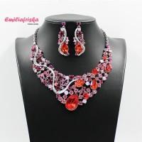 Harga new kalung pesta premium korea berlian fashion etnik kebaya | Pembandingharga.com