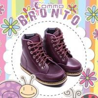 Commo Bronto Original Sepatu Anak Balita Kulit Asli Keren