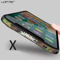Harga iphone xs max xr x lofter aluminum frame bezel metal bumper case | Pembandingharga.com