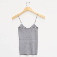 GREY MARBELA KNIT TOP