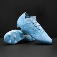 cc198d2c145 Sepatu Bola adidas Nemeziz Messi 18.1 FG - Ash Blue Ash Blue Raw
