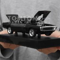 Dom Dodge Charger '70 Fast Furious Diecast Miniatur Mobil Mainan Anak