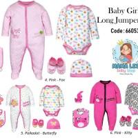 BABY GIRL JUMPER SET 6 IN 1 / BAJU BAYI / BABY JUMPER / BONEKA