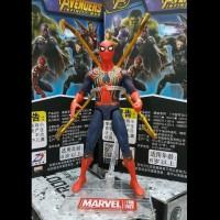 Mainan Action Figure Pajangan Ironspider Iron Spider Man Spiderman Toy