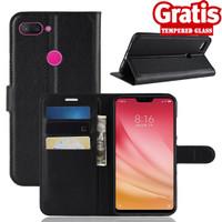 Xiaomi 8 Lite Dompet Kulit PU Flip Case 1577