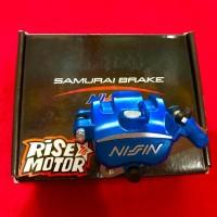 Kaliper Nissin Jupiter MX biru