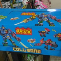 Brick 8 in 1 merk COGO COLL-SONG