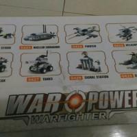 8 in 1 Brick merk K War Power