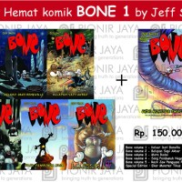 Paket Hemat BONE 1 by Jeff Smith
