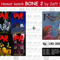 Paket Hemat Komik BONE 2 by Jeff Smith