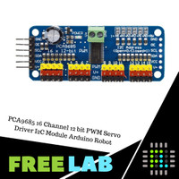 PCA9685 16 Channel 12 bit PWM Servo Driver I2C Module Arduino Robot