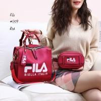 Harga tas back pack fila set waist bag fila | Pembandingharga.com