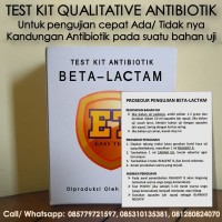 Test Kit Betalaktam Antibiotic - Teskit Antibiotik utk Tes Uji Pangan
