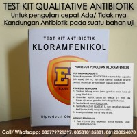 Test Kit KL0RAMFEN1KOL Antibiotic - Teskit Antibiotik utk Tes Pangan