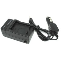 Camera Travel Charger for Sony DSLR with Car Charger - NP-FW50
