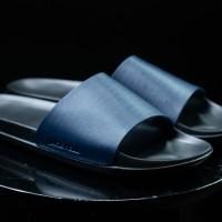 Sandal / Sandal Kulit / Jackwell Slides Navy