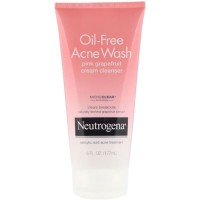 Neutrogena Oil-Free Acne Wash Pink Grapefruit Cream Cleanser 177ml