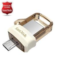 SanDisk OTG 32GB m3.0 USB 3.0 Ultra Dual USB Drive - Gold Edition