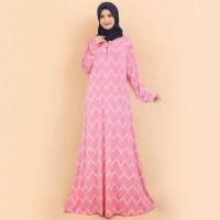 Baju Gamis Wanita Terbaru Gamis Jumbo BUSUI Motif Kotak 6953
