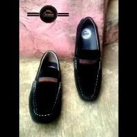 Sepatu Slip on Cocoes Barista Slop Casual Black