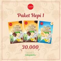 Paket Hepi 1 (Keripik Pisang Susu Lembang : 2 coklat, 1 original)
