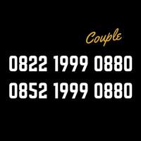 Nomor cantik Couple telkomsel 4G lte sakti combo 15Gb 0852 1999 0880