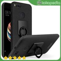Imak Contracted iRing Hard Case for Xiaomi Mi A1/5x - Hitam -H1530