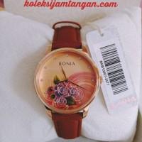 JAM TANGAN WANITA BONIA BNB10507-2577 ROSE GOLD BROWN ORIGINAL MURAH