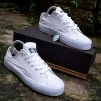 Sepatu Converse Putih Polos ct flat Pria Wanita