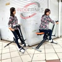 Power Rider - Alat Olahraga Sepeda Statis - Fitness Gym