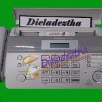 Mesin Fax Panasonic Kx-ft983cx Auto Cutter Faximile Thermal Facsimile